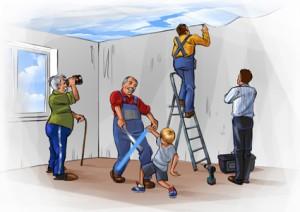 Архив. Важно знать о натяжных потолках