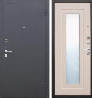 metallicheskaya-dver-zerkalo-bel