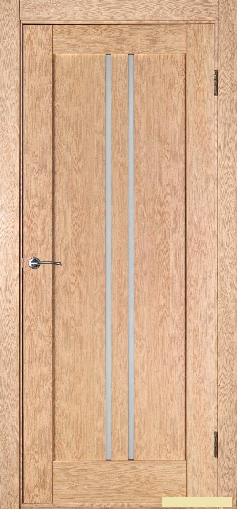 Триумф шпон 0675 , стекло , Беленный Дуб