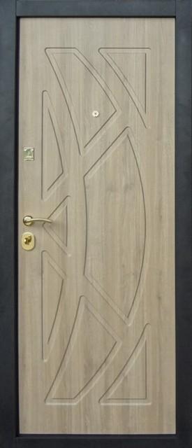 Двери ДОМСТРОЙ заказные МДФ/МДФ, 2 мм, модель 2