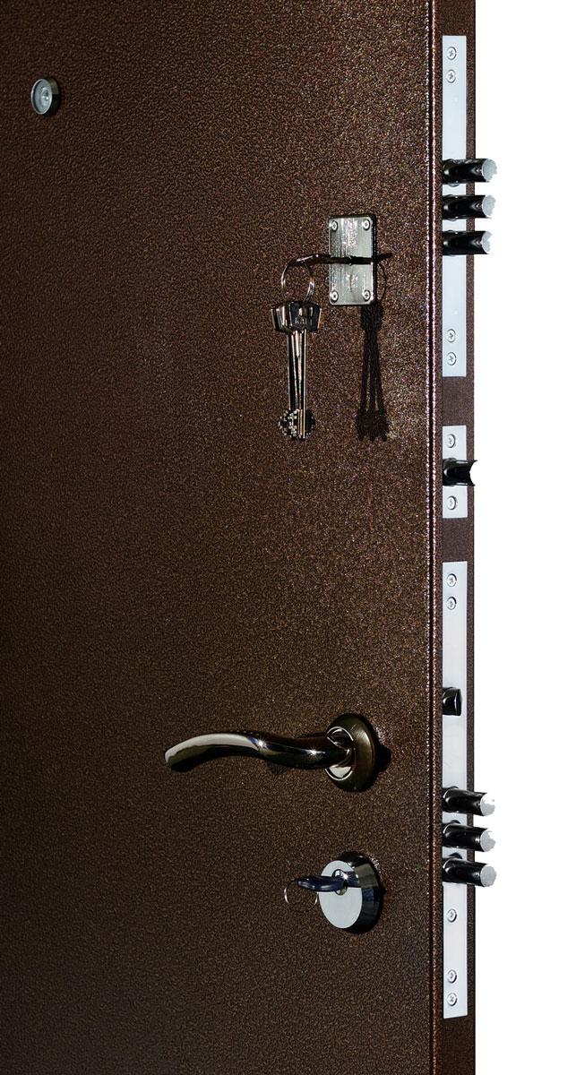 Классик 2мм, 2 замка, металл/мдф