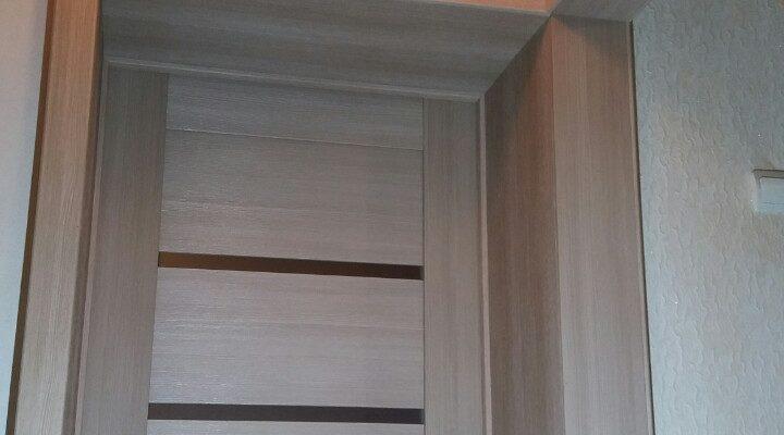 Установка межкомнатной двери и портала