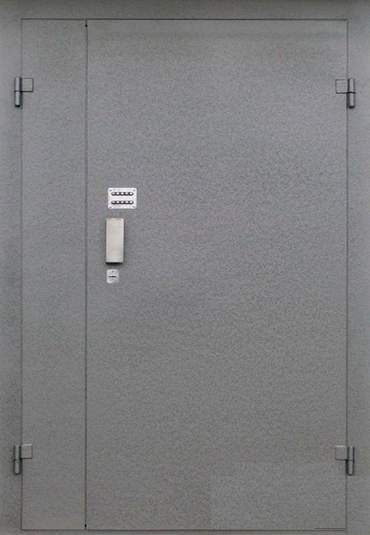 Железная дверь в подъезд, кодовый  замок