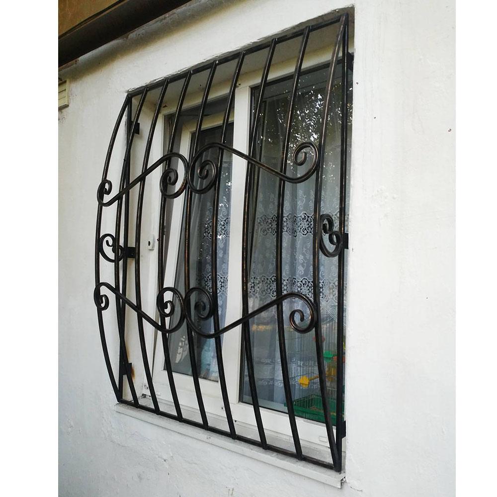 Металлическая решетка на окно тип 2