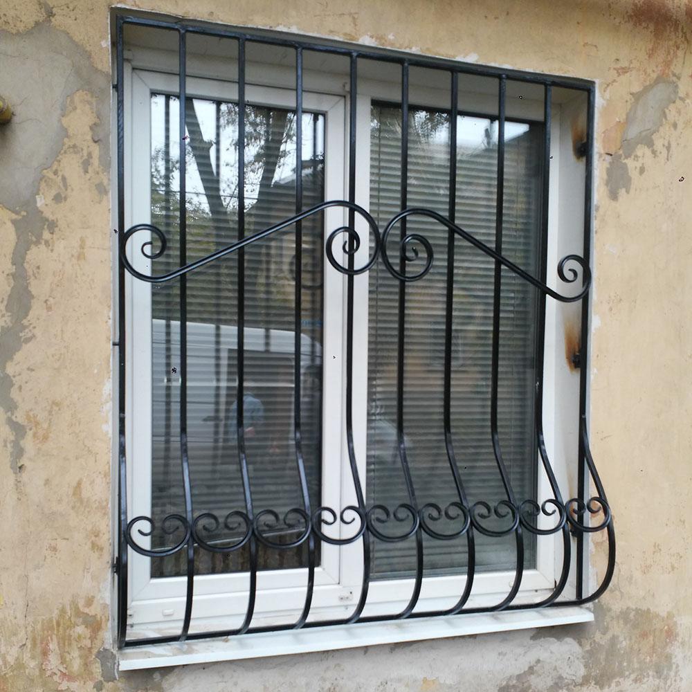 Металлическая решетка на окно тип 3