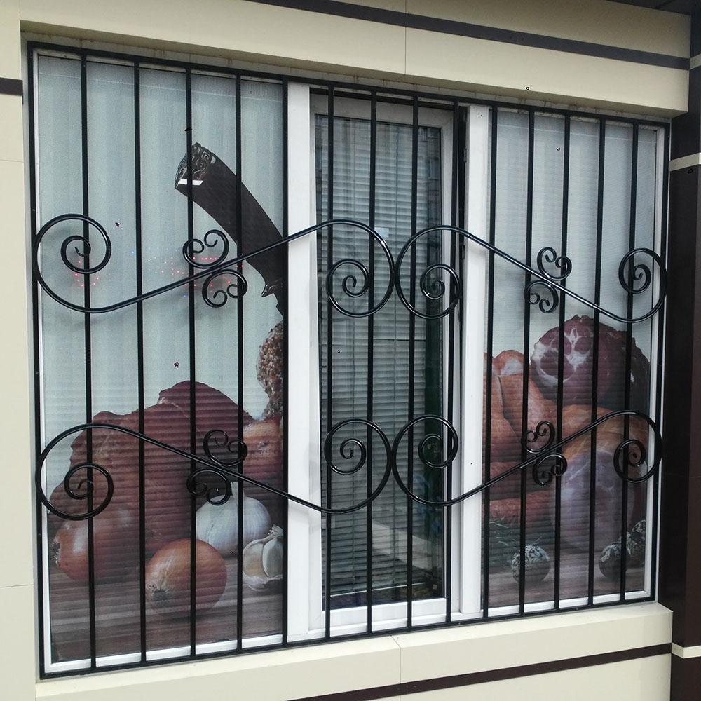 Металлическая решетка на окно тип 1